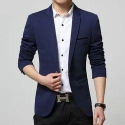 Amogue Plain Men Formal Blazer