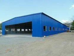 Steel Modular Storage Godown Shed