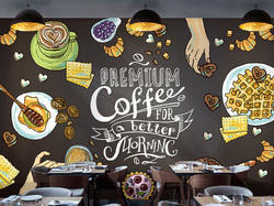 Restaurant Wallpaper Design