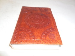 Mandala Embossed Handmade Leather Journal