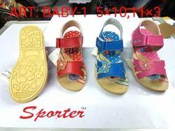 Sporter Kids Multi Baby Girls (Size-1 to 3) Fashion Sandals