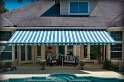 Grey And Blue Awnings Rs 290 Square Feet Raj Engineering Id