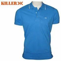 Cotton Blue Killer Polo T-Shirts Min Order - 100