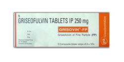 Griseofulvin (250mg) Grisovin-FP, Prescription