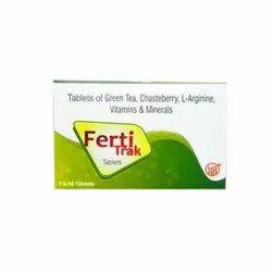 Ferti Trak Female Infertility Vitamin And Minerals Tablet