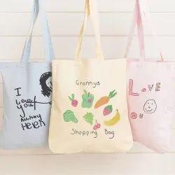 Artilea Printed Canvas Tote Bag