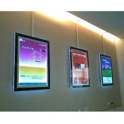 LED Magenatic Plastic ABS Frame A3