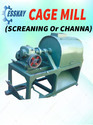 Cage Mill Screening Machine