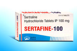Sertaline Hydrochloride Tablets IP 100 mg