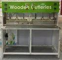 Wooden Cutlery Hot Pressing Machine