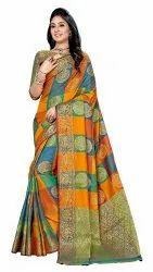 Pure Silk Banarasi Saree