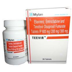 TEEVIR - Efavirenz / Emtricitabine & Tenofovir Disoproxil Fumarate Tablets