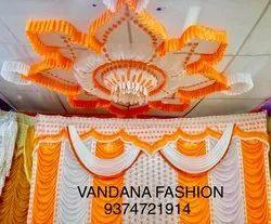 Plain Decorative Sidewall Wedding Tent Curtains