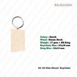 Wooden KeyChain-KC-32-Kite