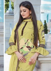 Signature-Vastra Moda Pashmina Lurex Digital Printed Salwar Suits Collection