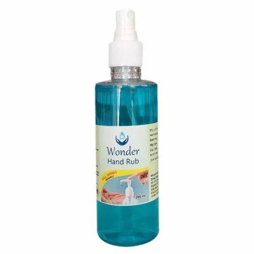 200ml Wonder Hand Rub Sanitizer