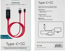 Type C to HDMI Cable 2M