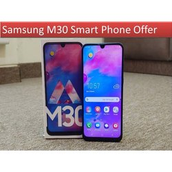 Octa-core M30 Samsung Smart Phone, Dimension: 159.0 X 75.1 X 8.9 Mm, Sim Size: Nano-sim (4ff)