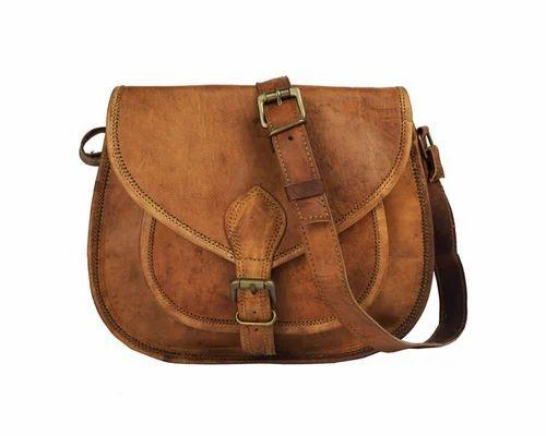 e6e74ca1d8 Crafat Brown Women  s Pure Leather Handbag Tote Bag