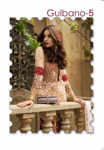 c9a9f04930 Semi-Stitched Deepsy Gulbano Vol 5 Georgette Pakistani Salawar Kameez