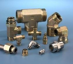 Brass Din 2353 Hydraulic Fittings