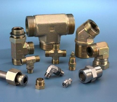 KE Brass Din 2353 Hydraulic Fittings, Size: 3/4 inch and 2 inch
