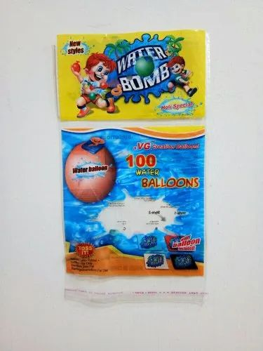 Routo Gravure Printed BOPP Pouch For Balloon Packing