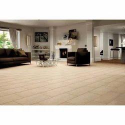 Sand Brown Living Room Porcelain Tile