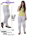 White Patiala Pant