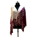 Z Design Velvet With Lace Scarves