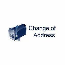 Address Change Of Company