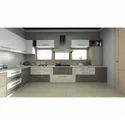 KRIOS Aspros White U Shaped Kitchen