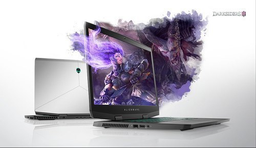 Silver Dell New Alienware M17 Laptop, Npg Unique Computers
