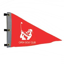 Triangle Golf Flag