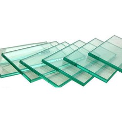 Transparent Tempered Toughened Glass, Packaging Type: Wooden Box, Shape: Flat