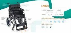 Lanzo Premium Aluminum Wheelchair