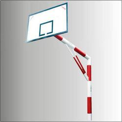 Basketball Pole Pipe Mini with 4'' x 3'' Ply Board METCO