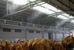Industrial Mist Cooling System