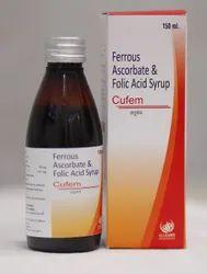 Ferrous ascorbate and Folic acid Syrup