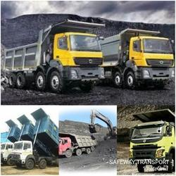 Hyva Tipper Truck Coal Transporting Service, Full Load