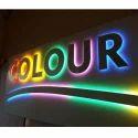 Multicolor LED Sign Board