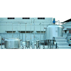 Semi Automatic Soft Drink Plant