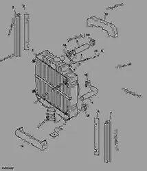 MP RADIATORS Copper Tractor Radiator, for Automobile