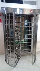 120 Degree Stop Full Height Turnstile