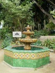 Small Stone Garden Fountain