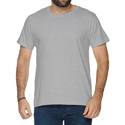 Cotton Grey Mens T-shirts, Size: S To Xxxl