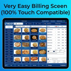 Touch Screen Restaurant POS System