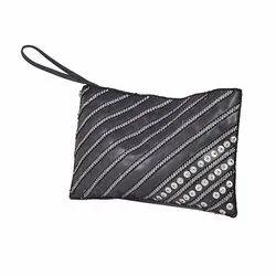 Women Hand Bag Black Leather Bag