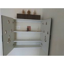 Wall Mounted Pooja Cabinet at Rs 850 square feet Pooja Cupboard