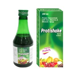 Protein Concentrate with Iron Vitamins and Minerals Syrup, Packaging Type: Bottle